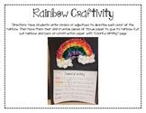 Rainbow Craftivity (St Patricks Day)