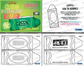Rainbow Crayon Interactive Reader (IR) Book Bundle