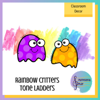 Rainbow Critters Tone Ladders