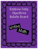 Rainbow Daily Objectives