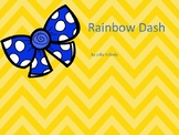 Rainbow Dash Board Game -NG and -CK Words
