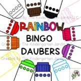 Rainbow Dauber Markers Clipart | Amanda Emily
