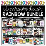Rainbow Decor BUNDLE