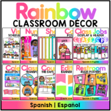 Rainbow Decor Set - Spanish