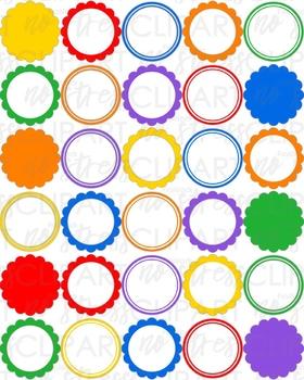 Rainbow Design Pack (Digital Use Ok!)