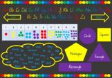 Rainbow Desk Mat (Prep - 4)