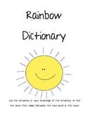 Rainbow Dictionary Skills