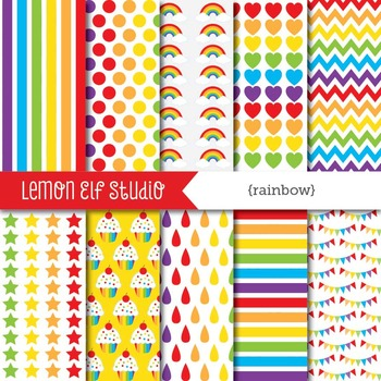 Rainbow-Digital Paper (LES.DP18A)