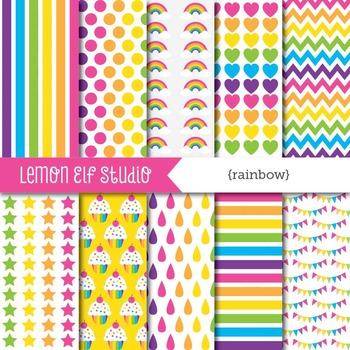 Rainbow-Digital Paper (LES.DP18B)