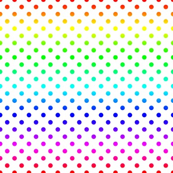 Digital Scrapbook Paper - Rainbow FREEBIE
