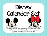 Rainbow Disney Calendar Set