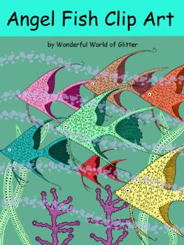 Rainbow Doodle Fish