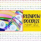 Rainbow Doodles Partner Cards