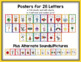 Colors, Numbers & Shapes: Rainbow Dot Classroom Posters Bundle