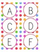 Rainbow Dot Guided Reading Labels