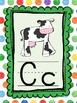 Rainbow Dots Alphabet Posters