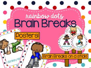 Rainbow Dots - Brain Breaks
