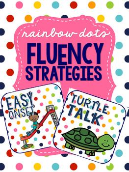 Rainbow Dots - Fluency Strategy Visuals
