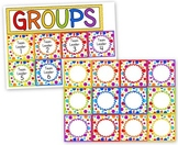 Rainbow Dots Grouping Cards - FREE