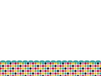 Rainbow Dots PowerPoint Template
