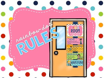 Rainbow Dots - Rules Display EDITABLE