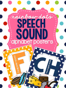 Rainbow Dots - Speech Sound Alphabet