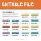 Rainbow Dots Teacher Toolbox Labels
