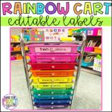 Rainbow Drawer Labels: Editable