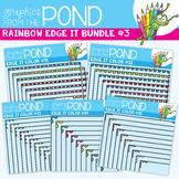 Rainbow Edge It Borders Bundle 3