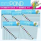Rainbow Edge It Borders Bundle 4