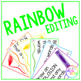 Rainbow Editing Display
