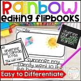 Rainbow Editing Flipbooks