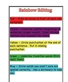 Rainbow Editing Form