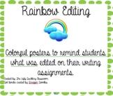 Rainbow Editing Posters