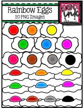 Rainbow Egg Clipart