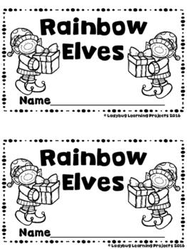 Rainbow Elves  (A Sight Word Emergent Reader and Teacher Lap Book)