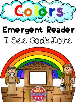 Preschool Colors; Noah's Ark {Inspired} Emergent Reader