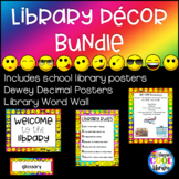 Rainbow Emoji Library Posters Décor - BUNDLE