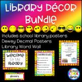 Rainbow Emoji Library Decor - BUNDLE