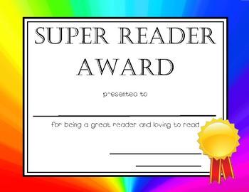 Rainbow End of Year Awards