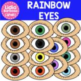 Rainbow Eyes Clipart