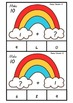 Rainbow Fact Clip Cards