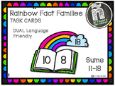 Rainbow Fact Families - Number Bonds - DUAL Language Friendly