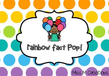 Rainbow Fact Pop! #ausbts18