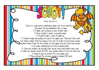 Rainbow Fact SCOOT