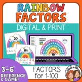 Rainbow Factors Reference Posters and Board Game plus Digi