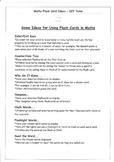 Rainbow Facts (10 Frame Flash Cards) & Ideas - Addition an