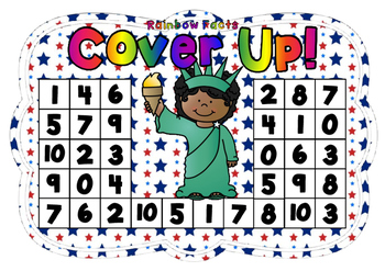 Rainbow Facts Cover Up! 4th July Theme
