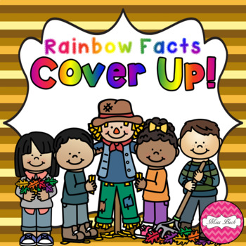 Rainbow Facts Cover Up! Autumn/Fall Theme