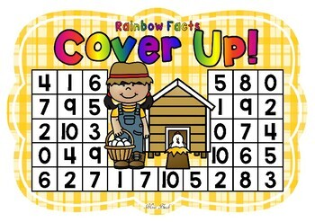 Rainbow Facts Cover Up! Farm Theme